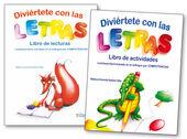 DIVIERTETE CON LAS LETRAS. LIBRO DE LECTURA Y ACTIVIDADES