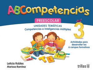 ABCOMPETENCIAS 3. PREESCOLAR