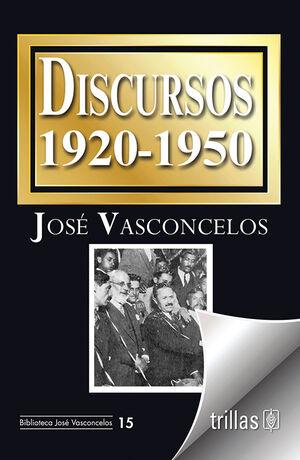 DISCURSOS. 1920-1950