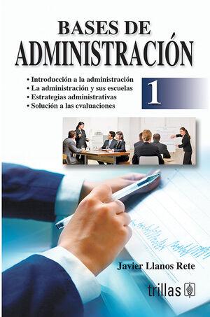 BASES DE ADMINISTRACION 1