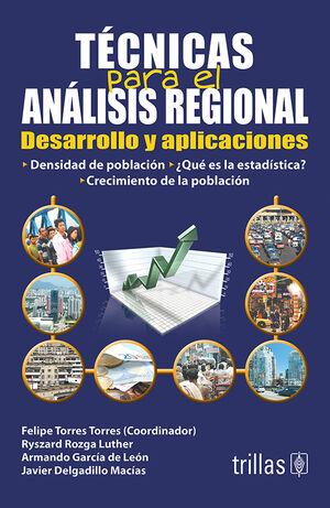TECNICAS PARA EL ANALISIS REGIONAL