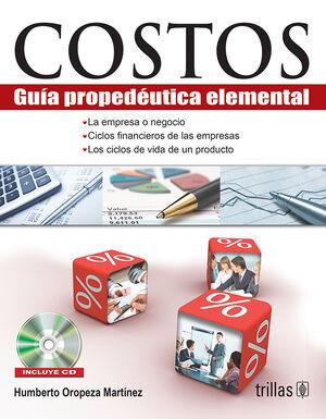 COSTOS. INCLUYE CD