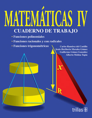 MATEMATICAS 4. CUADERNO DE TRABAJO