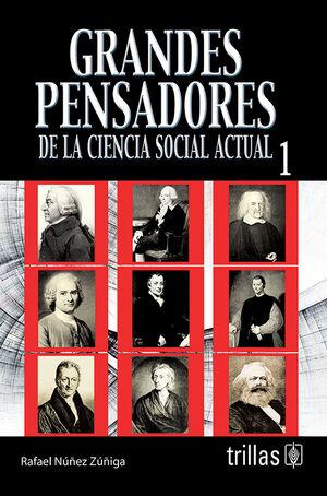 GRANDES PENSADORES DE LA CIENCIA SOCIAL ACTUAL 1