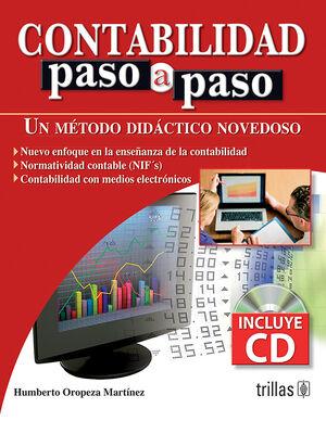 CONTABILIDAD PASO A PASO. INCLUYE CD