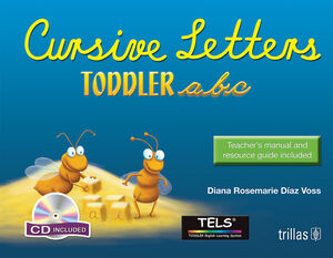 TODDLER ABC CURSIVE LETTERS. CD INCLUDED.