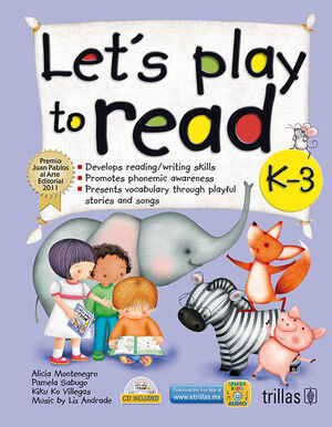LET'S PLAY TO READ K-3. CD INCLUDED
