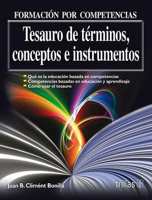 TESAURO DE TERMINOS, CONCEPTOS E INSTRUMENTOS