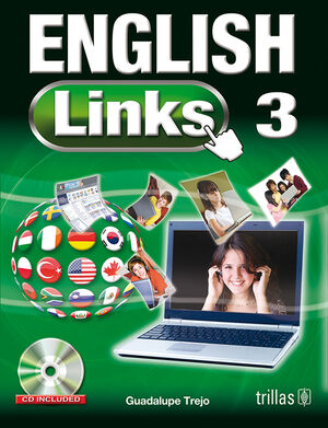 ENGLISH LINKS 3. CD INCLUDED