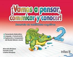 VAMOS A PENSAR, COMUNICAR Y CONOCER! 2