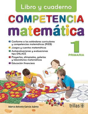 COMPETENCIA MATEMATICA 1. LIBRO Y CUADERNO