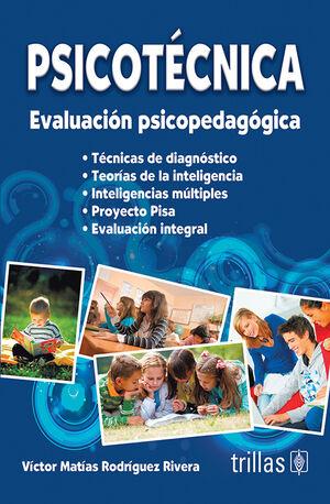 PSICOTECNICA: EVALUACION PSICOPEDAGOGICA