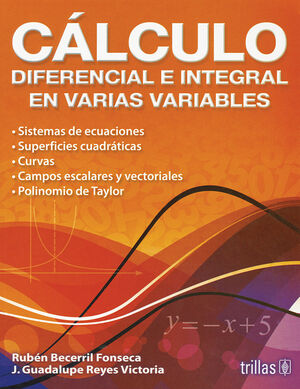 CALCULO DIFERENCIAL E INTEGRAL EN VARIAS VARIABLES
