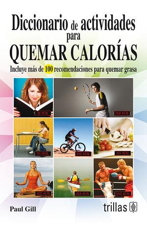 DICCIONARIO DE ACTIVIDADES PARA QUEMAR CALORIAS