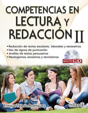 COMPETENCIAS EN LECTURA Y REDACCION II: INCLUYE CD