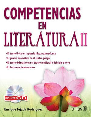 COMPETENCIAS EN LITERATURA II. INCLUYE CD