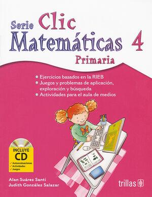 CLIC 4. MATEMATICAS PRIMARIA. INCLUYE CD