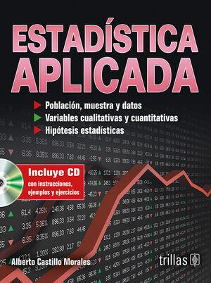 ESTADISTICA APLICADA. INCLUYE CD