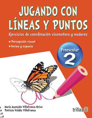 JUGANDO CON LINEAS Y PUNTOS 2, PREESCOLAR