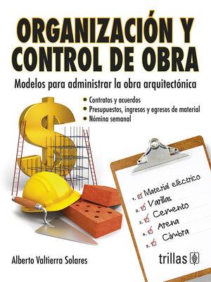 ORGANIZACION Y CONTROL DE OBRA