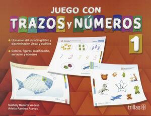 JUEGO CON TRAZOS Y NUMEROS 1