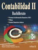 CONTABILIDAD II. BACHILLERATO. INCLUYE CD