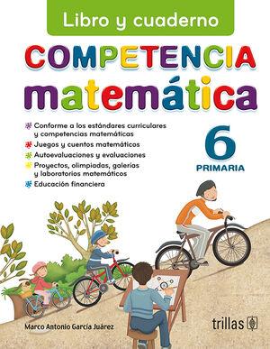COMPETENCIA MATEMATICA 6. LIBRO Y CUADERNO