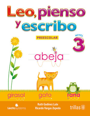 LEO, PIENSO Y ESCRIBO. PREESCOLAR 3