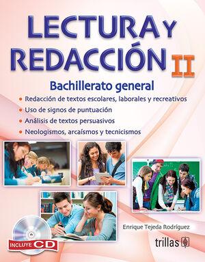 LECTURA Y REDACCION II. INCLUYE CD