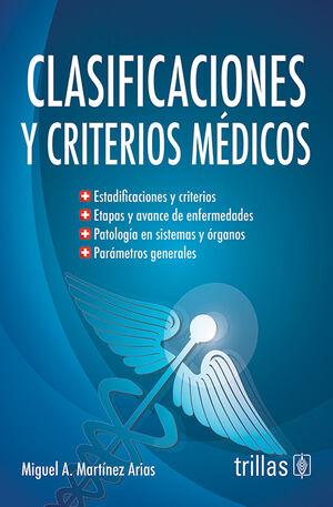CLASIFICACIONES Y CRITERIOS MEDICOS