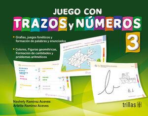 JUEGO CON TRAZOS Y NUMEROS 3