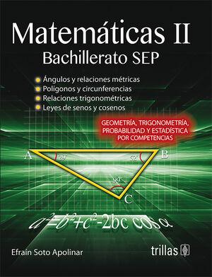 MATEMATICAS 2. BACHILLERATO SEP