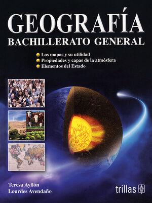 GEOGRAFIA. BACHILLERATO GENERAL