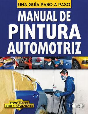 MANUAL DE PINTURA AUTOMOTRIZ