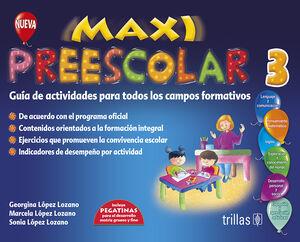 MAXI PREESCOLAR 3