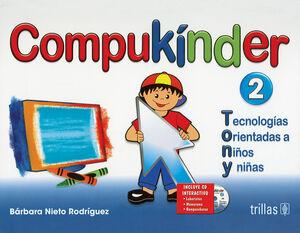 COMPUKINDER 2. INCLUYE CD INTERACTIVO