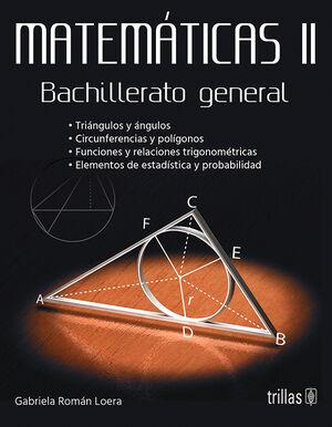 MATEMATICAS II. BACHILLERATO GENERAL