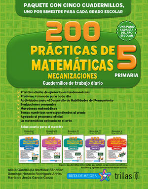200 PRACTICAS DE MATEMATICAS 5, PRIMARIA. MECANIZACIONES