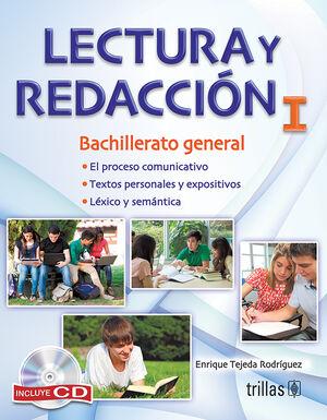 LECTURA Y REDACCION I. INCLUYE CD