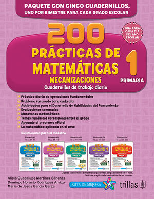 200 PRACTICAS DE MATEMATICAS 1, PRIMARIA. MECANIZACIONES