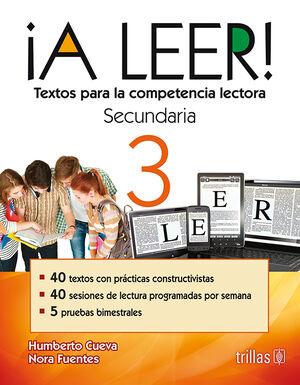 A LEER! 3, SECUNDARIA