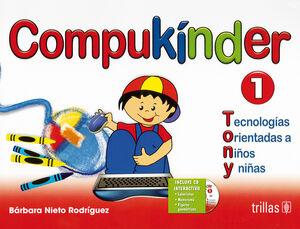 COMPUKINDER 1. INCLUYE CD INTERACTIVO
