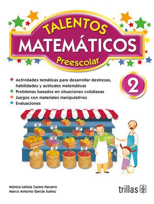 TALENTOS MATEMATICOS, PREESCOLAR 2