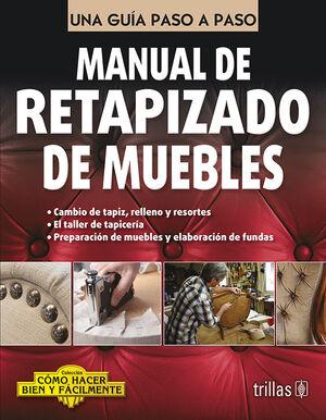 MANUAL DE RETAPIZADO DE MUEBLES