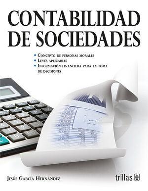 CONTABILIDAD DE SOCIEDADES. CONCEPTO DE PERSONAS MORALES. LEYES APLICABLES.