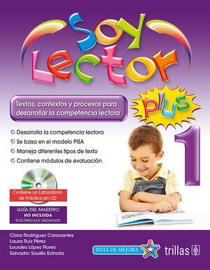 SOY LECTOR PLUS 1. CONTIENE UN LABORATORIO DE PRACTICA EN CD