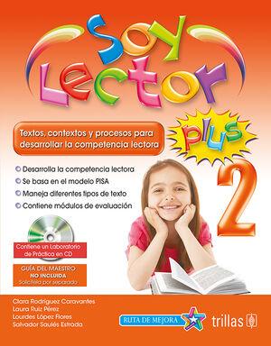 SOY LECTOR PLUS 2. CONTIENE UN LABORATORIO DE PRACTICA EN CD