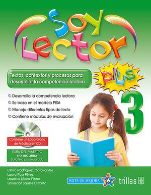 SOY LECTOR PLUS 3. CONTIENE UN LABORATORIO DE PRACTICA EN CD