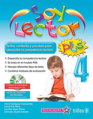 SOY LECTOR PLUS 4. CONTIENE UN LABORATORIO DE PRACTICA EN CD