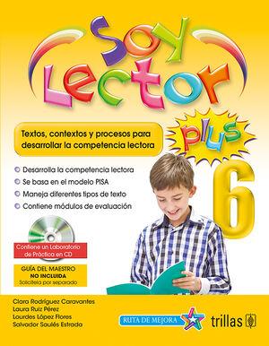 SOY LECTOR PLUS 6. CONTIENE UN LABORATORIO DE PRACTICA EN CD